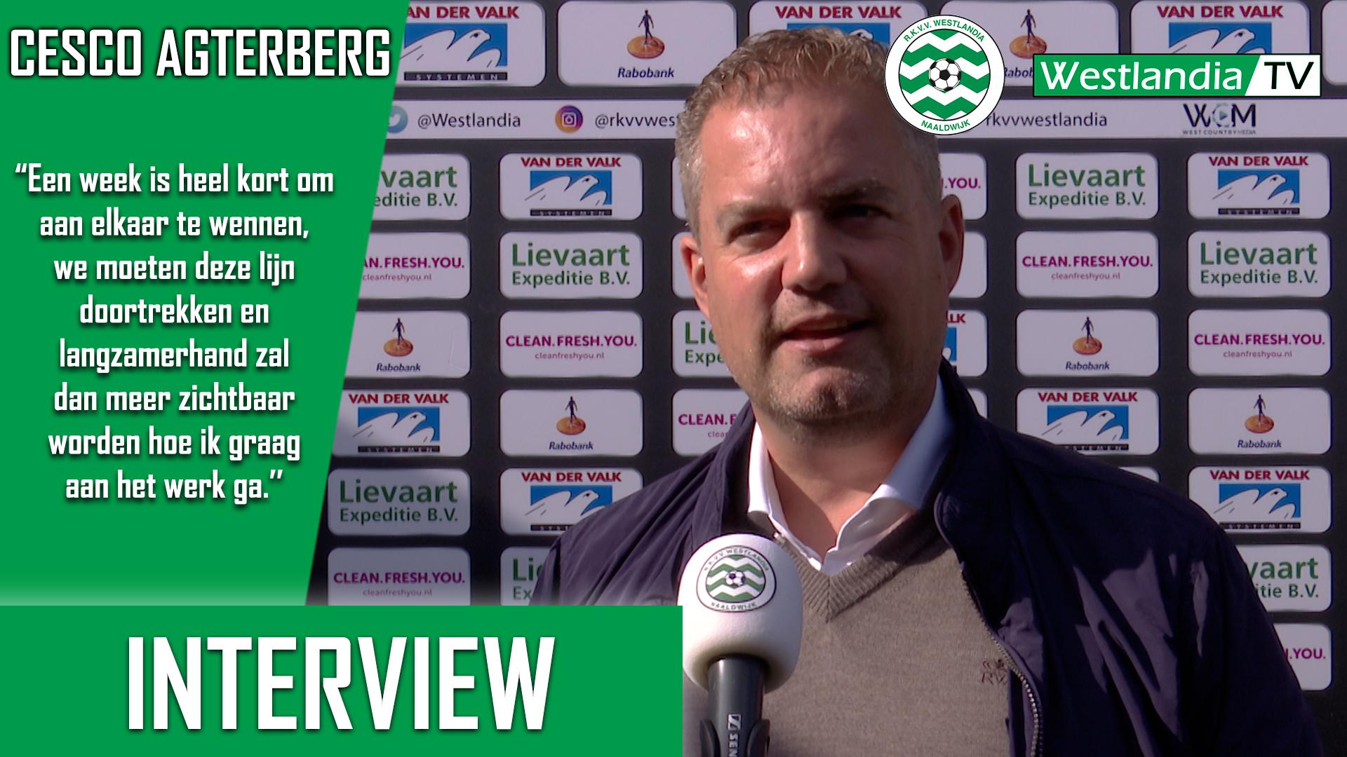 Interview met de nieuwe hoofdtrainer Cesco Agterberg!