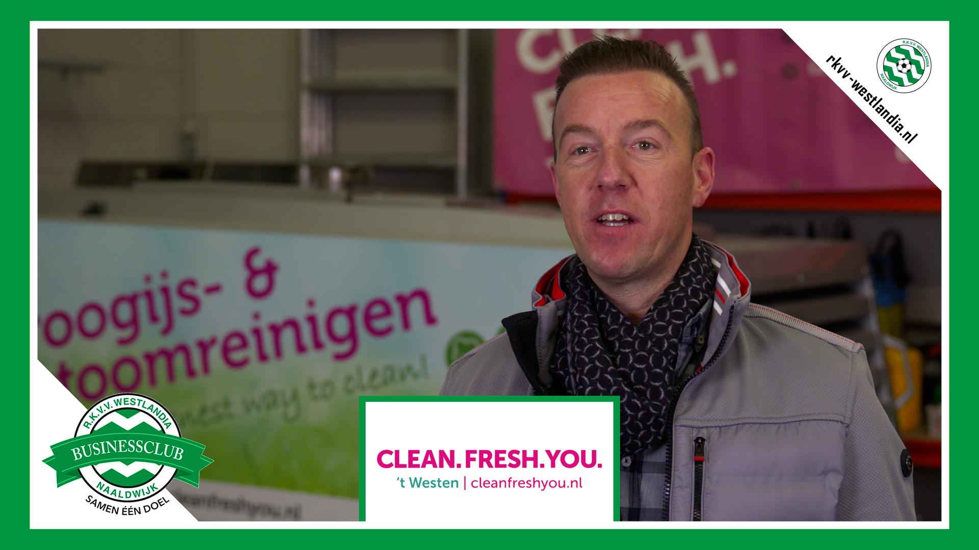 Clean. Fresh. You. X Westlandia - 'Schoonmaken en specialistisch reinigen met Westlandse mentaliteit'