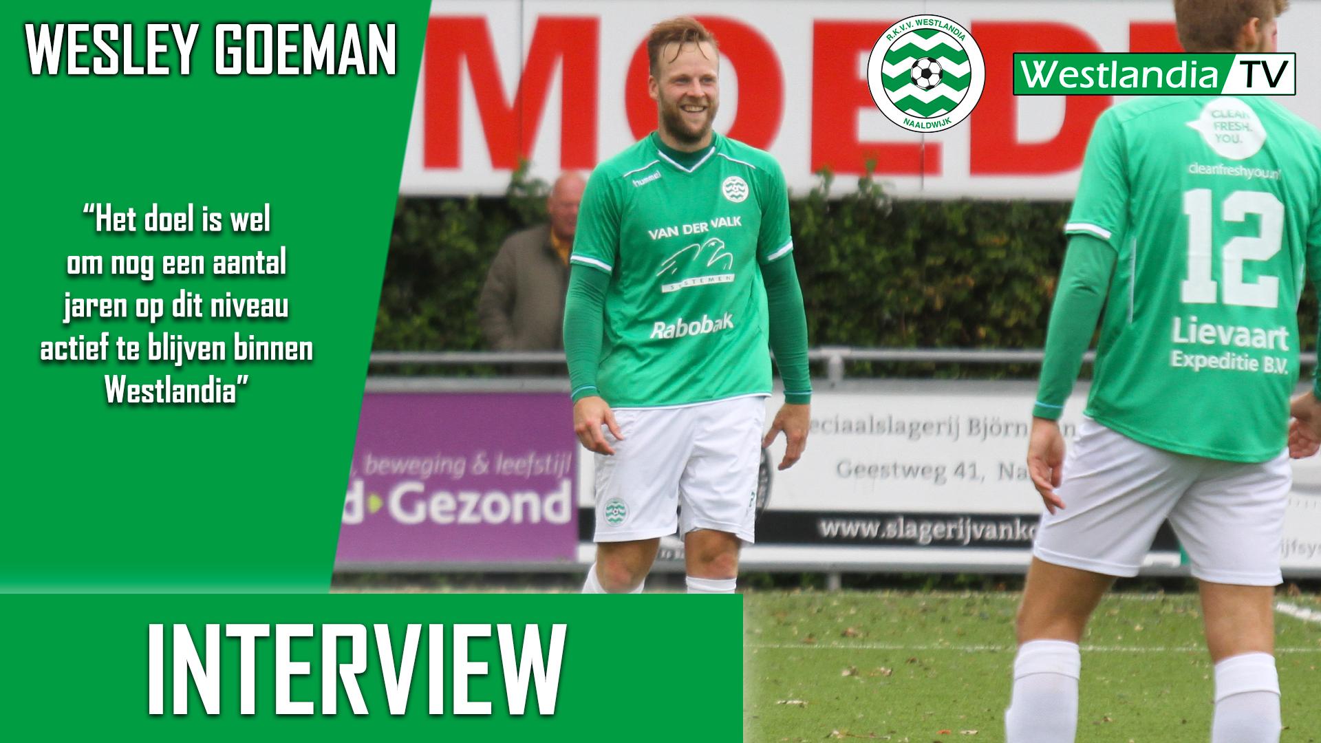 Wesley Goeman verlengt zijn contract met één seizoen! (Interview)