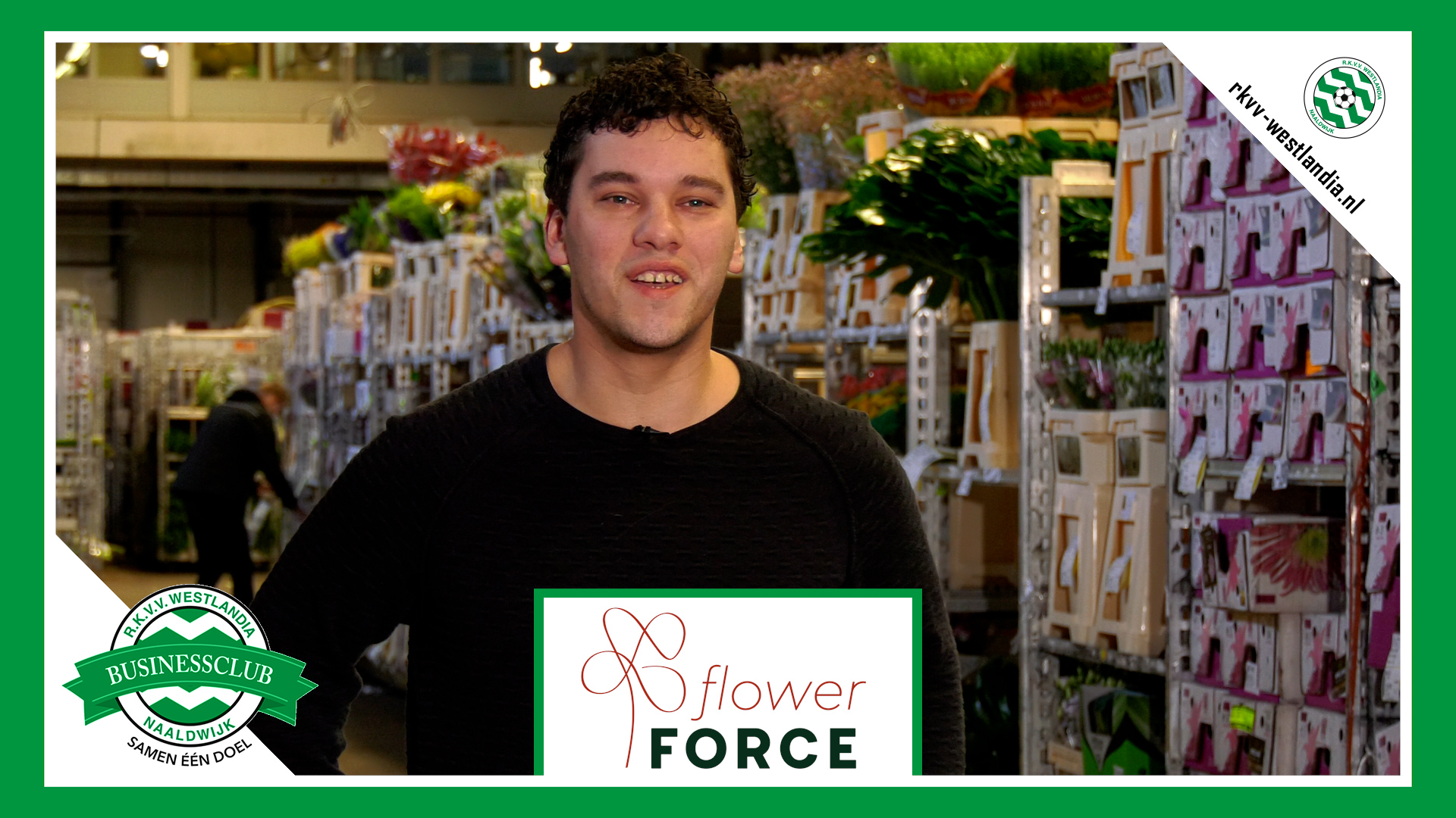 FlowerForce X Westlandia - 'Warme band met kwekers door middel van sponsoring'