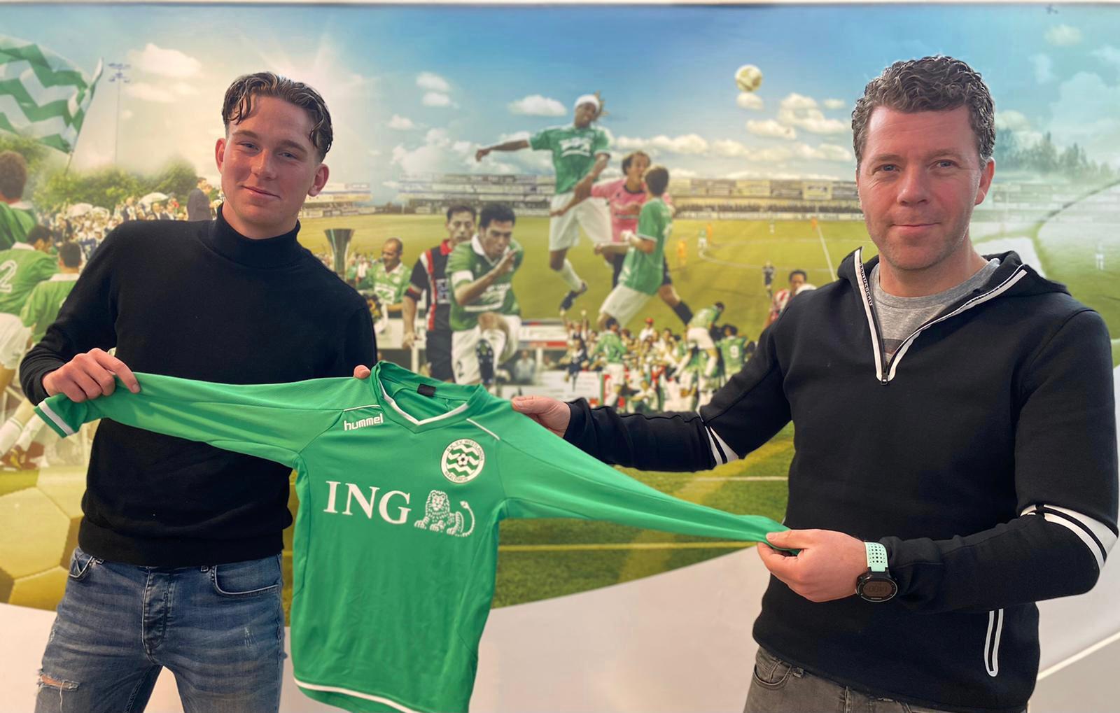 Wesley Bierens nieuwe jeugdtrainer JO10 en JO12 selectie