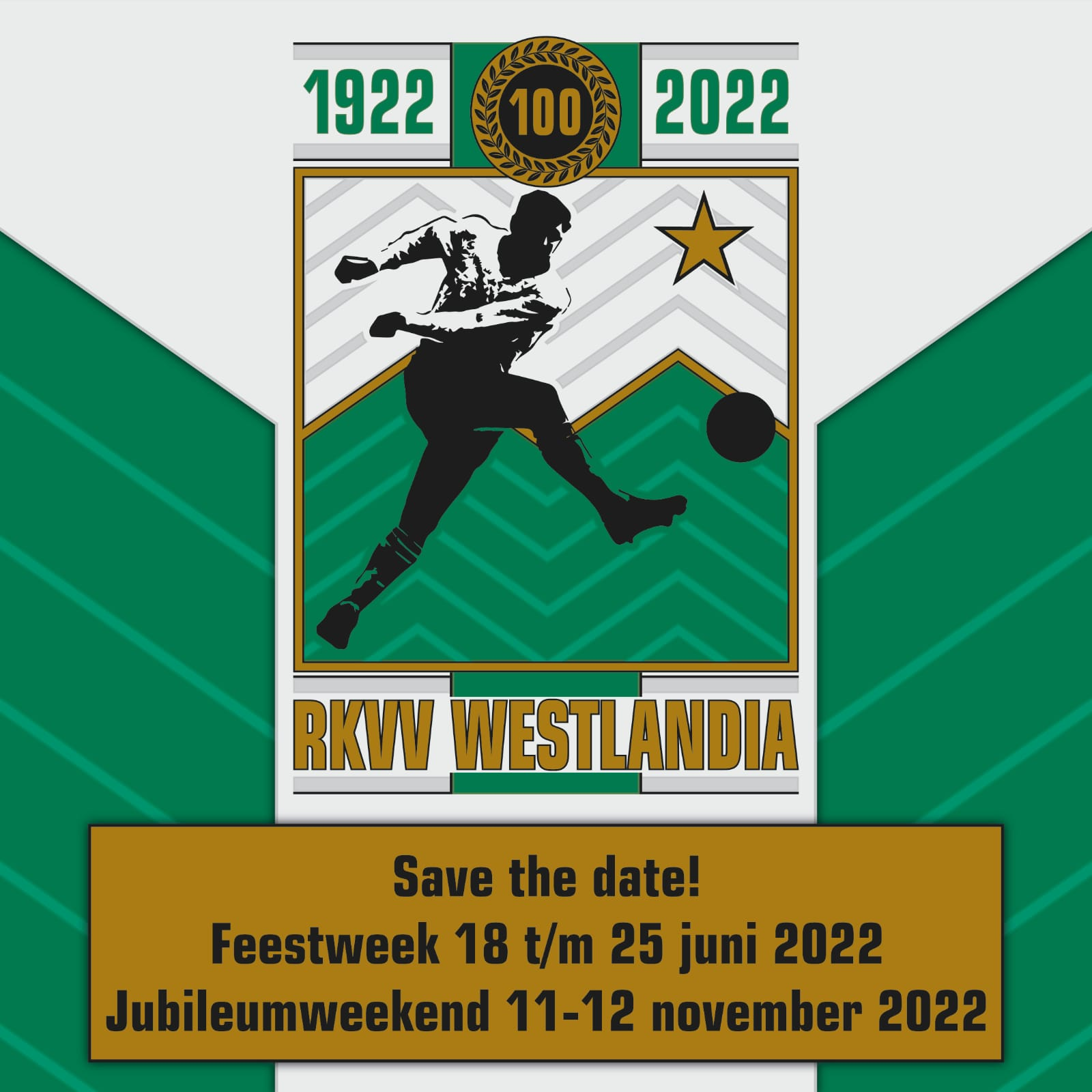 Save the date - Westlandia 100 jaar!